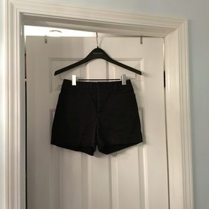 The Limited Classic Black Pencil Stretch Shorts, S